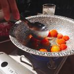DoDoDoどさんこマルシェ179 - トマトを炒めます。