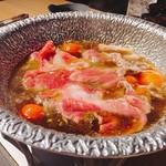 DoDoDoどさんこマルシェ179 - トマトすき焼き