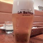 イケブクロ ラ・ベットラ・ダ・オチアイ - 生ビール