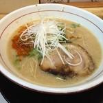 福島壱麺 - 辛口豚骨ラーメン(780円)