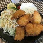 ○八食堂 - 魚フライ