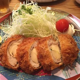 キッチン直 - 松茸とんかつ