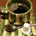 しげまつ - 食後にホットコーヒーも付属