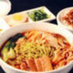 天香 薬膳クロレラ入り麺 セット(辛口)