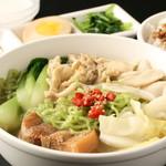 回味 薬膳クロレラ入り麺 セット(甘口)
