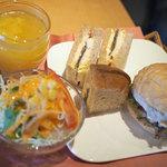 cafe creek - サンドウィッチランチ(夏季限定)