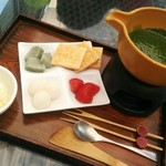 神楽坂 茶寮 東京ドームシティミーツポート店 - 【2016/8】抹茶フォンデュ