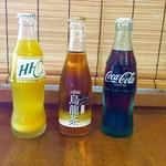 だるま亭 - オレンジ  ウーロン茶  コーラ  200円