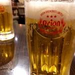 ちゅら屋 - 昼からオリオンビール乾杯!