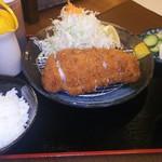 豚一門 - 料理写真:チーズハサミ かつ定食