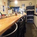茶猫食堂 - 内観