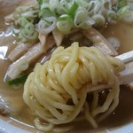 54730674 - 太麺でお願いしましたが、これが太麺がよく分からず(^^;)
