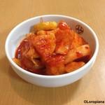 平壌冷麺食道園 - カクテキ