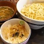 ラーメンぼんくら - ぼんつけ(つけ麺)