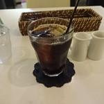 カフェ フロリ - アイスコーヒー:200円(セット)