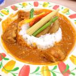 54733333 - アフリカ料理「ムアンバライス」(1180円)