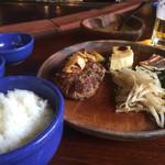 鉄板焼ステーキハウス jam - ランチBのハンバーグ150g&魚(グルクン)1300円