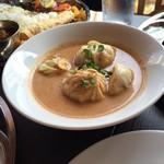 ネパール民族料理 アーガン - スープモモ