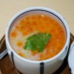 たつ郎寿司 - 小さなイクラ茶碗蒸 540円