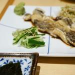 たつ郎寿司 - 穴子の胡麻葱 1,600円