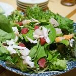 たつ郎寿司 - 海鮮サラダ 1,550円