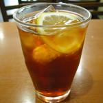喫茶シャトー - アイスレモンティ
