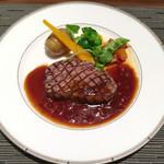 神戸風月堂 - 牛フィレ肉のステーキ