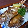 みやこや - 料理写真:日本海の王様「ノドグロ」と「赤鰈」 ※2016/05 新潟県漁獲