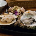54739830 - 2016.8 いろいろ焼き貝食べくらべ