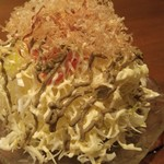 里の宿 - カニ味噌サラダ