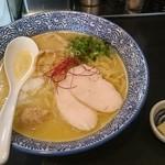 54743522 - 濃厚鶏白湯ラーメン