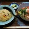 大陸 - 料理写真:「冷麺セット」  h28.8.8撮影