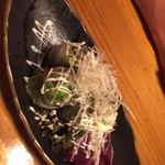 肉×個室 居酒屋 箱屋 - マグロとアボカドの生春巻き