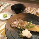 花彩 - 甘鯛の揚げ