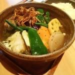 54745803 - シャンバラ・野菜のススメ・辛さ1番・ご飯少なめ 990円