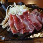 御食事処 あんき屋 - 飛騨牛朴葉みそ焼(単品)1,950円