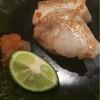 鮨 真 - 料理写真:白甘鯛の焼き物