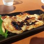ビアカフェ カミヤ - 鶏の塩麹焼き(550円)です