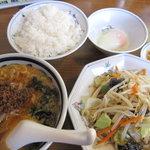 テンホウ - ミニタンタン定食