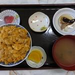 ぬいどう食堂 - うに丼 税込¥1500