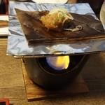ひらゆの森 - 料理写真:朴葉味噌