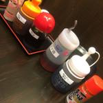 徳川ホルモンセンター - 調味料 コチュジャン、ニンニクは無いです