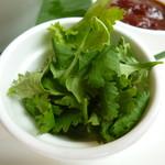 tcc Singaporean Café & Diner - パクチー