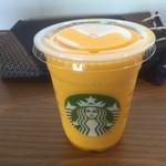 スターバックス・コーヒー - マンゴーオレンジフラペチーノ