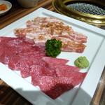 HEIJOUEN - 熟成和牛赤身とハラペーニョ豚を塩で