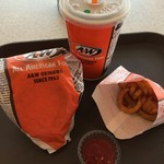 A&W - カーリーフライとセットにて