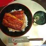 はなぶさ - >゜))))))))))))彡〰 うな丼♥