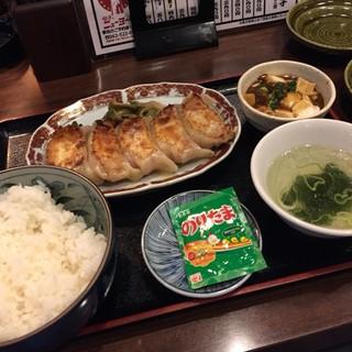 居酒屋 餃子のニューヨーク - 手打ち餃子定食