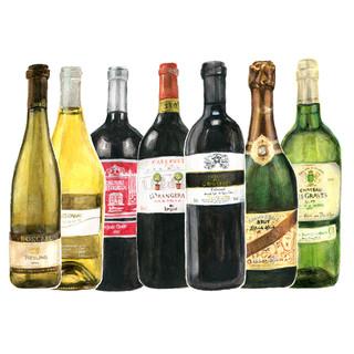 南フランスを中心とした豊富なワイン
