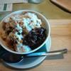 シラサ - 料理写真:かき氷(黒みつぜんざい)